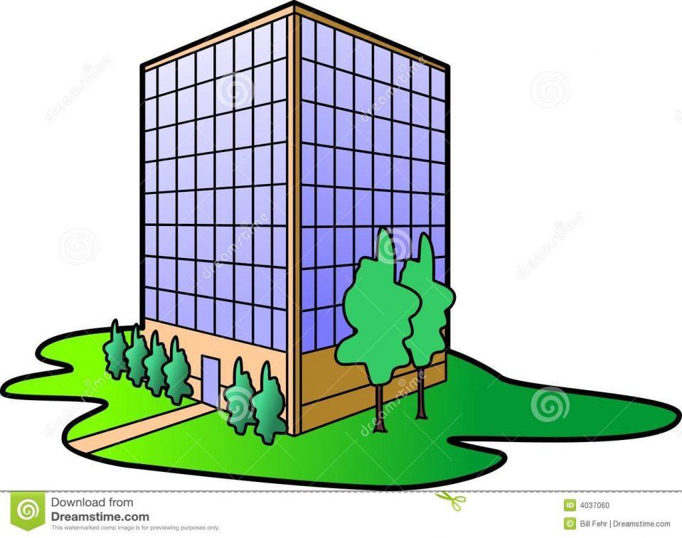 959x757 Uncategorized Clip Art Office Building Excellent Inside