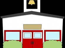 220x165 School Building Clip Art Architecture Clipart Front Of School