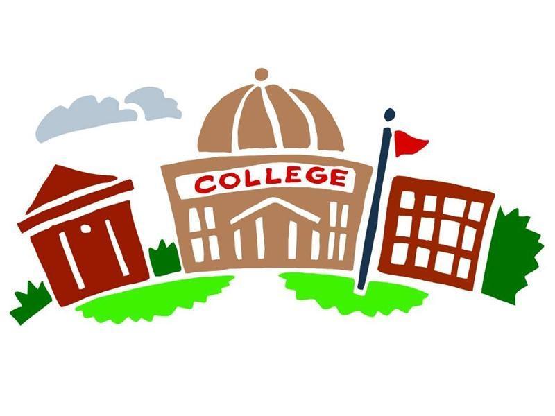 800x600 University Building Clip Art