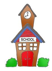 185x249 Building Clipart School