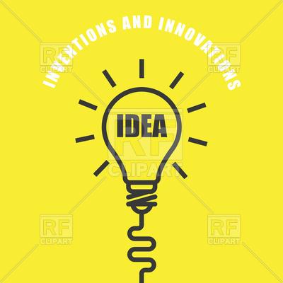 400x400 Idea Light Bulb