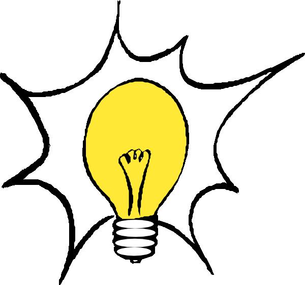 600x561 Cartoon Light Bulb Clipart