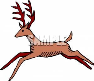 Bull Elk Clipart
