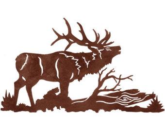 340x270 Bugling Bull Elk Etsy