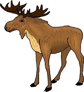 270x297 Elk Clipart Group