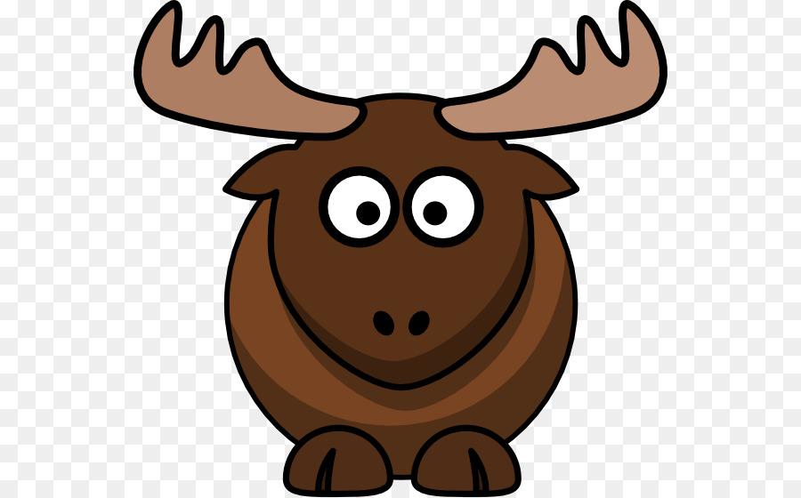 900x560 Elk Moose Cartoon Deer Clip Art