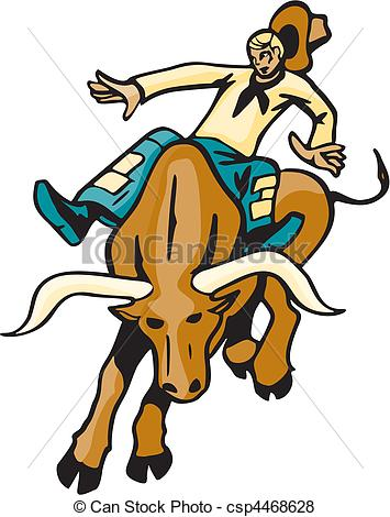 355x470 Bull Riding Clip Art Vector Graphics. 362 Bull Riding Eps Clipart