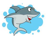 195x156 Clip Art Shark Clipart