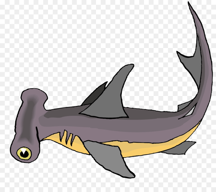 900x800 Hammerhead Shark Bull Shark Clip Art