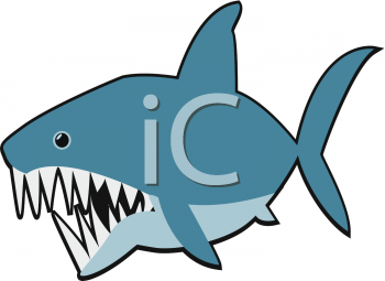 350x255 Shark Clip Art