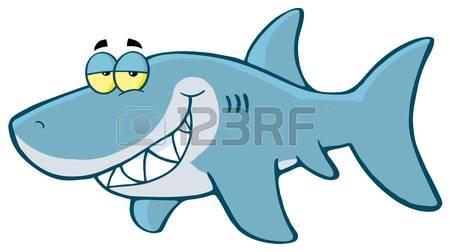 450x252 Cartoon Shark Clipart