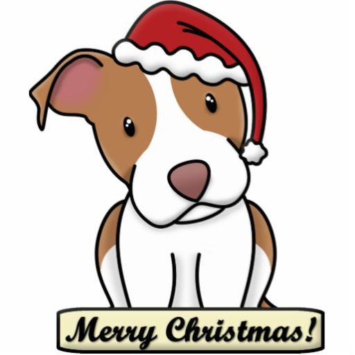 512x512 Cartoon Pitbull American Staffordshire Terrier Photo Cutout