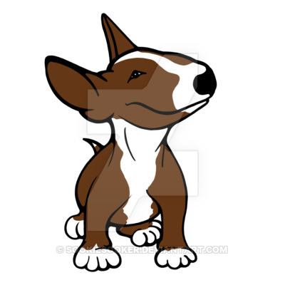 400x400 English Bull Terrier Pup Brown By Sookiesooker