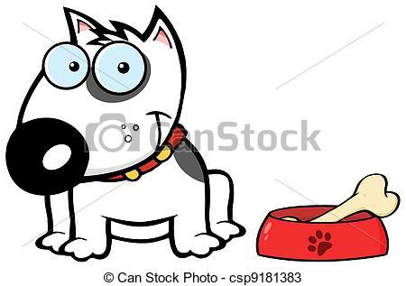 450x317 Smiling White Bull Terrier Dog Happy White Bull Terrier