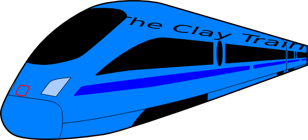 600x272 The Clay Train Clip Art