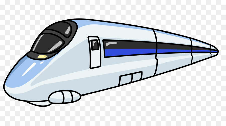 900x500 Train Rail Transport High Speed Rail Rapid Transit Clip Art