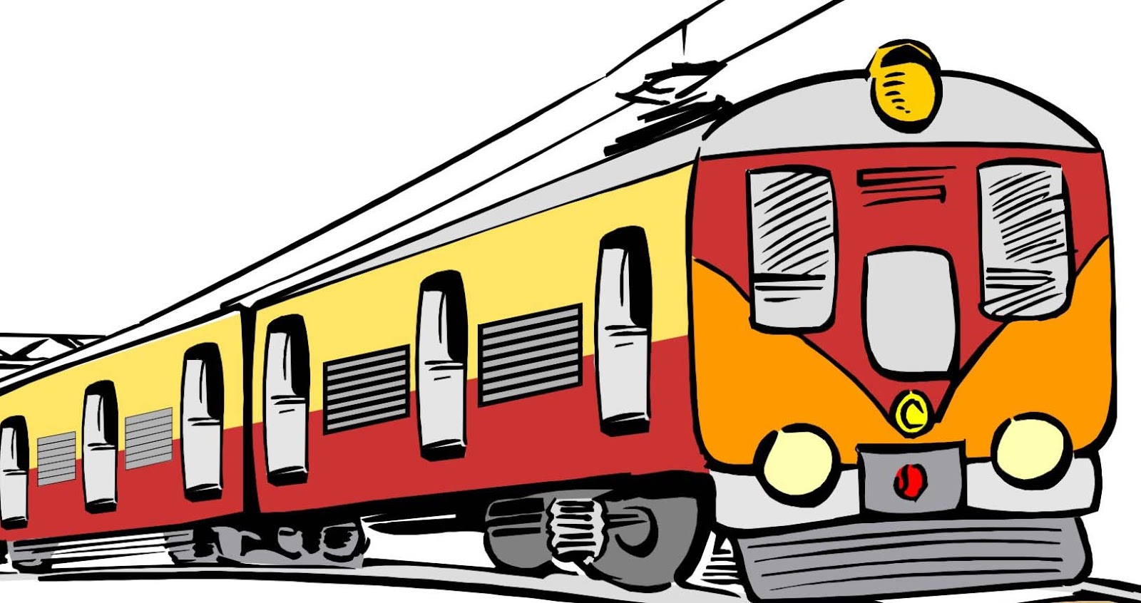 1600x846 Train Clipart Rail