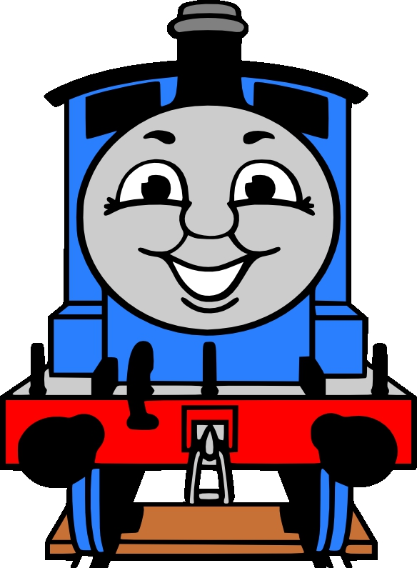 584x795 Thomas Train Clipart