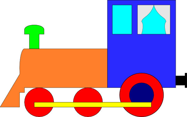 600x377 Train Clip Art