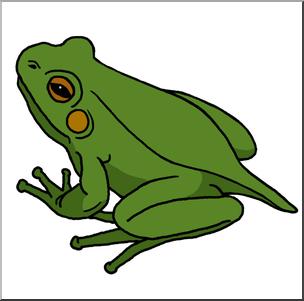 304x301 Clip Art Froglet Color I Abcteach