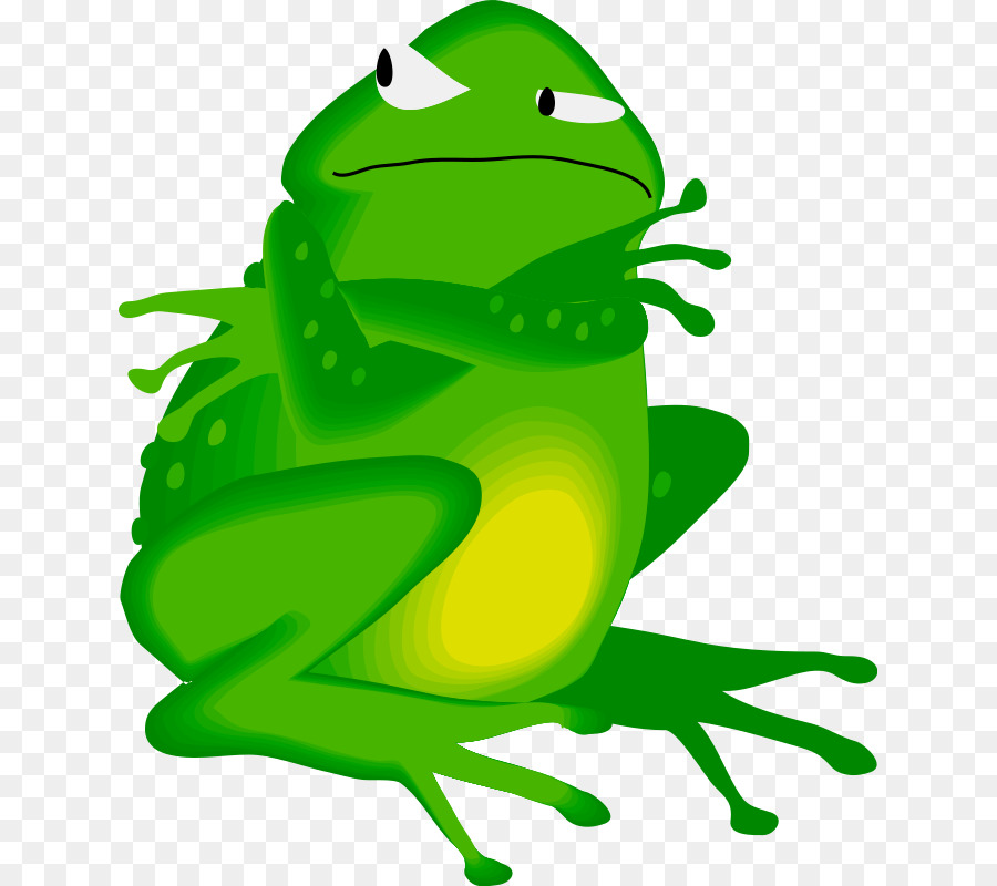 900x800 Edible Frog Amphibian Clip Art