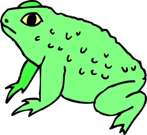 300x275 Frog Png Images, Icon, Cliparts