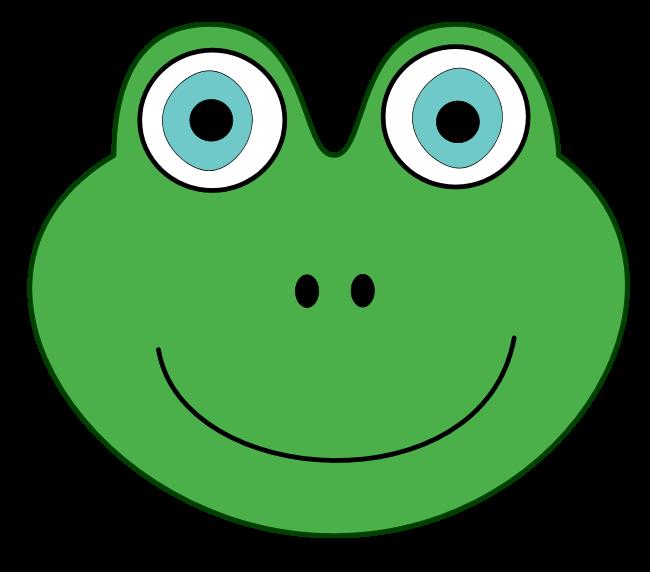 650x572 Bullfrog Clipart Frog Face