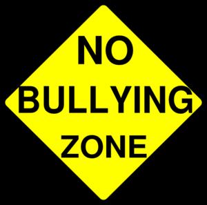 300x297 No Bullying Zone Clip Art