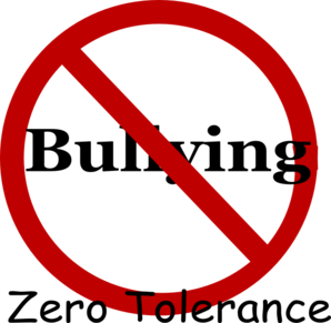 298x291 No Bullying Clip Art