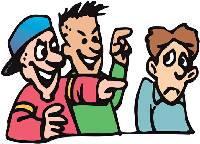 642x463 Collection Of Clipart Bullying Pictures High Quality, Free