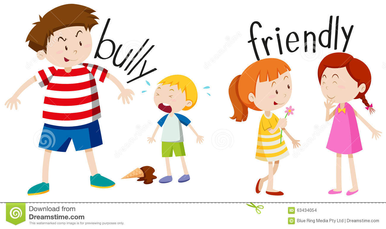 1300x772 Boy In Classroom With Bullies Clipart Collection