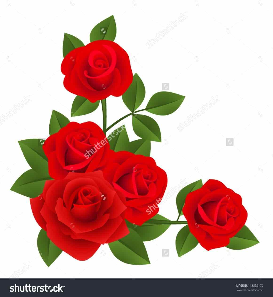 1161x1264 Red Rose Bouquet Clipart The Clip Art Of Kid Barn Clip Red Rose