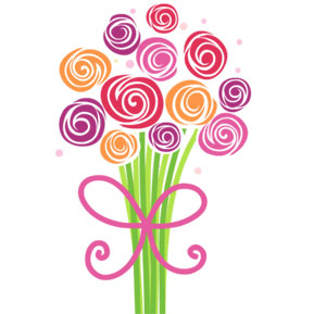 289x289 Mothers Day Flowers Clipart Mothers Day Clipart Bouquet 7