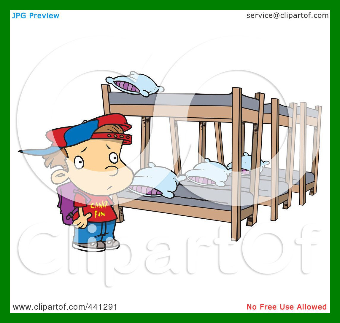 Bunk Bed Clipart