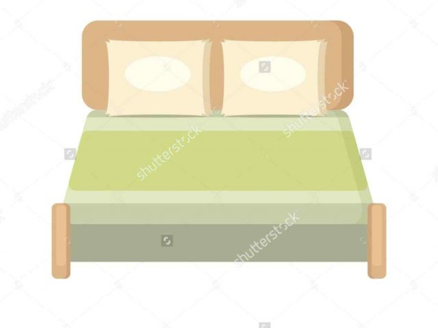 640x480 Bedroom Furniture Clipart
