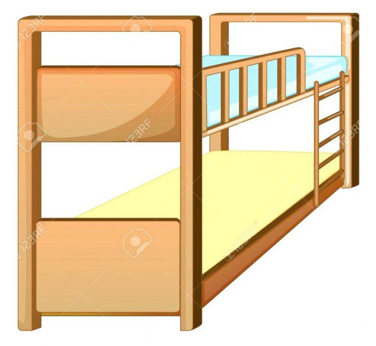 740x682 Bed Clipart Bedroom Alluring Bunk Bed Clip Art Master Bedroom Bunk