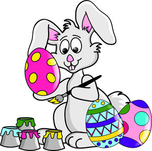 300x298 Free Clip Art Easter Bunny Free Easter Eggs Clipart Image 0515