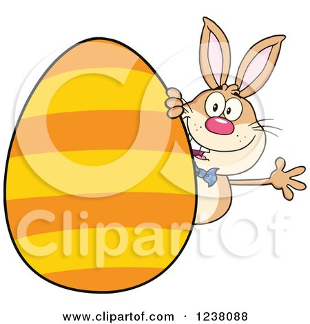 450x470 Royalty Free (Rf) Clipart Illustration Of A Goofy White Rabbit