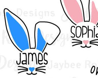 340x270 Bunny Ears Svg Etsy