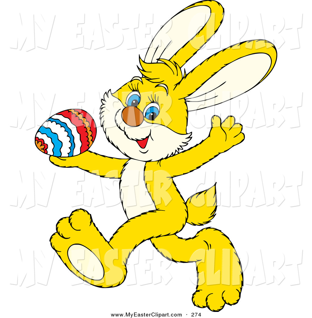 1024x1044 Cliprt Of Cute Yellow Bunny Rabbit Running Past