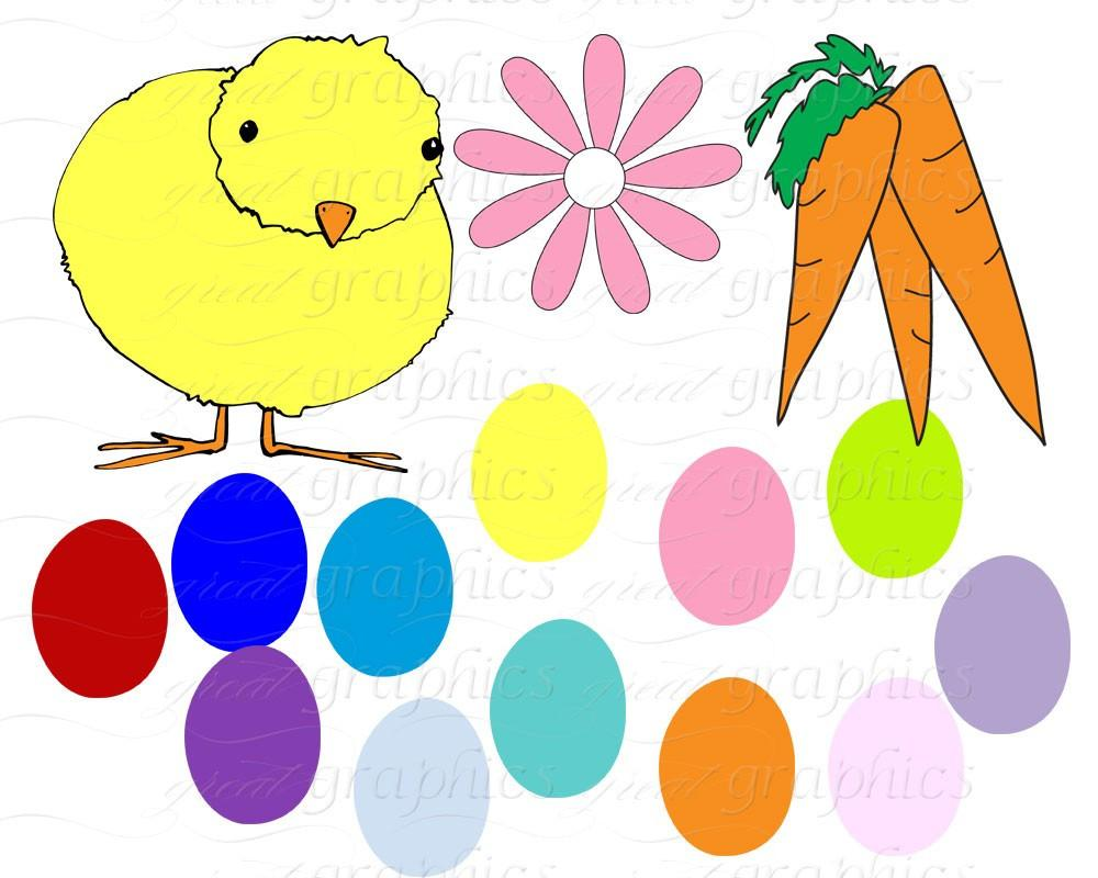 1000x800 Easter Clip Art Easter Clipart Digital Easter Easter Bunny Clipart