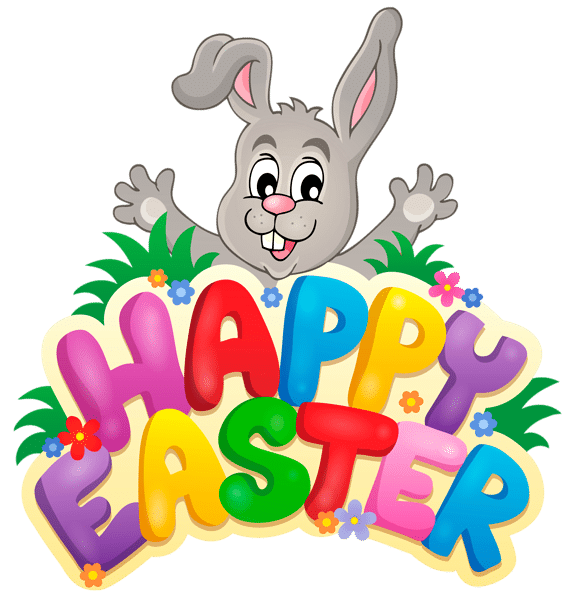 572x600 26 Happy Easter Clipart Images Free Easter Bunny Amp Egg Clipart