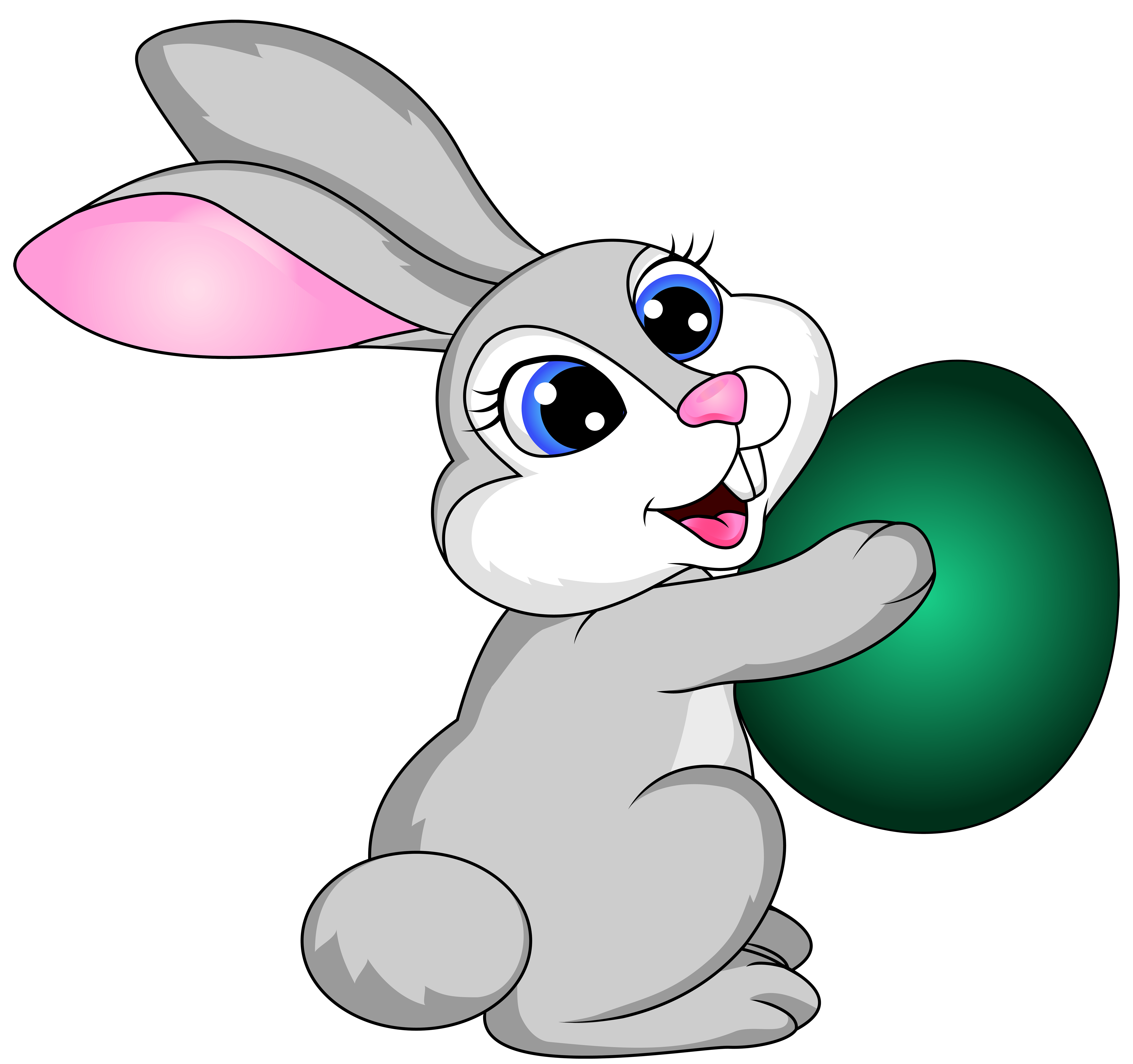 6000x5637 Collection Of Bunny Clipart Transparent Background High