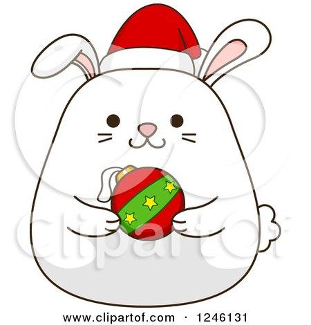 450x470 Christmas Rabbit Clipart Christmas Bunny Wreath Clip Art 1 Clipart