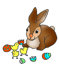 190x227 Funny Easter Bunny Clipart