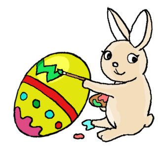 330x323 New Easter Rabbit Clipart