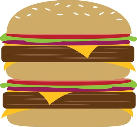 Burger Clipart