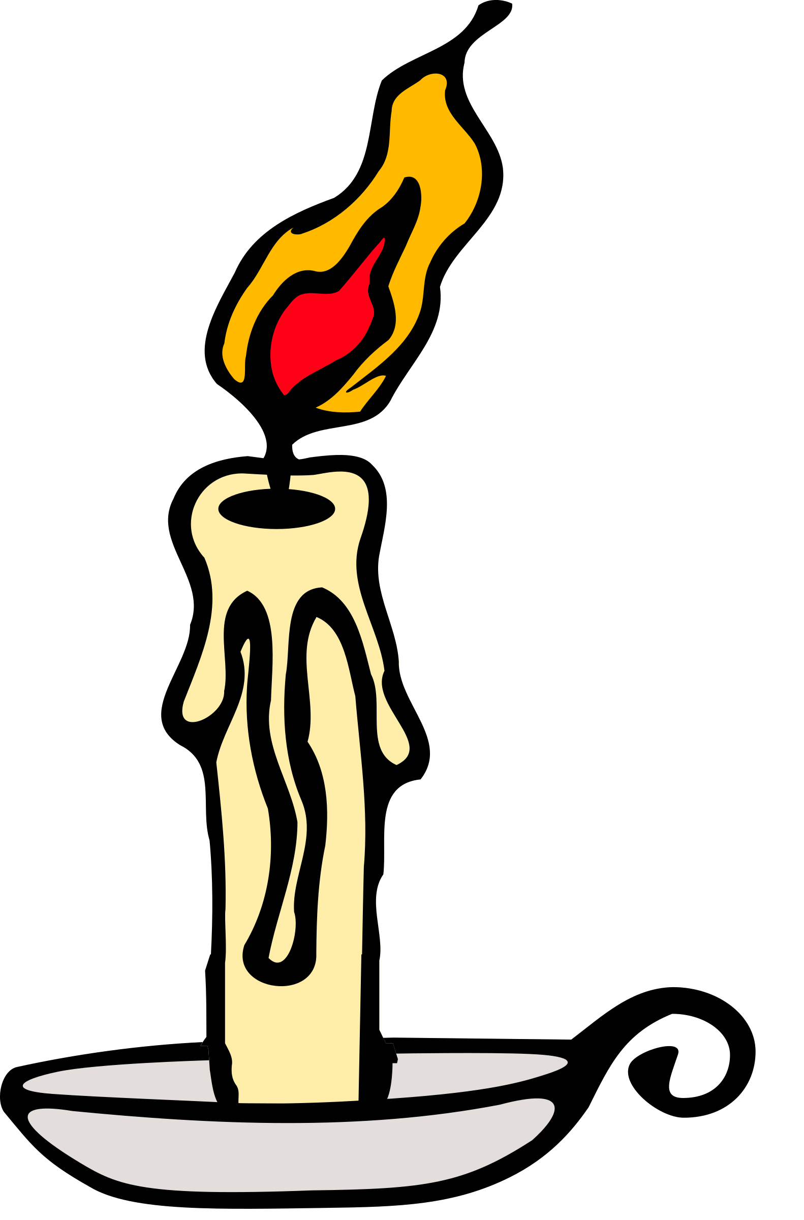 1582x2400 Collection Of Candle Burning Clipart High Quality, Free