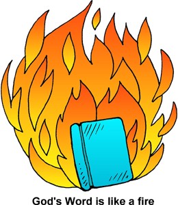 260x300 Books Burning Clipart