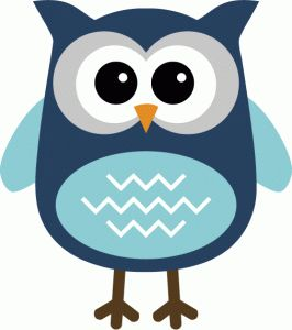 266x300 Owlet Clipart Shape